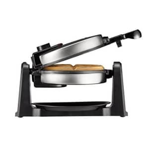 Chefman Rotating Belgian Waffle Maker, 180 Flip Iron w/ Non-Stick Plates, Adjustable Timer, Locking for $35