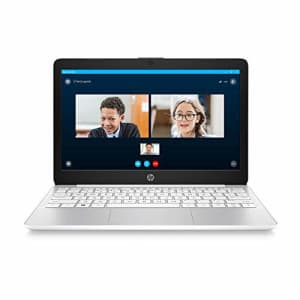 HP Stream 11-inch HD Laptop, Intel Celeron N4000, 4 GB RAM, 32 GB eMMC, Windows 10 Home in S Mode for $295