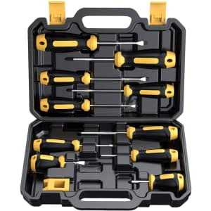 Cremax 10-Piece Magnetic Screwdriver Set for $20