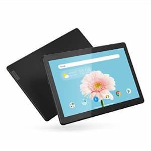 "Lenovo Tab M10 HD 10.1"" Tablet, Android 9.0, 32GB Storage, Quad-Core Processor, WiFi, Bluetooth, for $170"