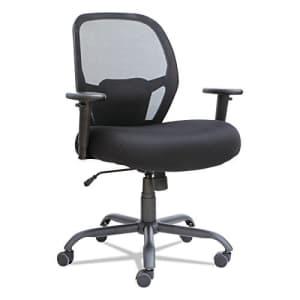 Alera Merix Series Mesh Big/Tall Mid-Back Swivel/Tilt Chair, Black for $318