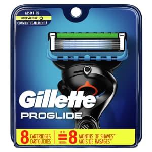 Gillette ProGlide Men's Razor Blade Refills 8-Pack for $26