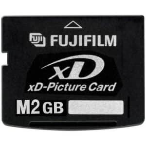 Fujifilm 2 GB XD Flash Memory Card (Retail Package) for $100