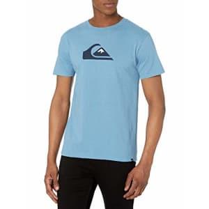 Quiksilver Men's Tee Shirt, Blue Heaven Comp Logo, S for $22