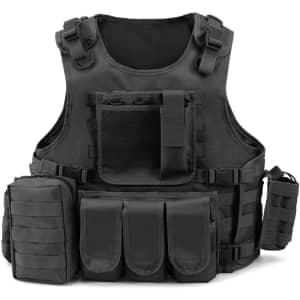 Barbarians Men's Tactical Vest for $18