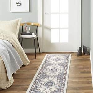 """Home Dynamix Premium Sakarya Traditional Runner Rug, Oriental Ivory 1'9""""x7'2"""" for $28"""