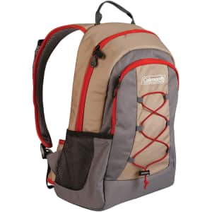 Coleman 28-Can Soft Cooler Backpack for $25
