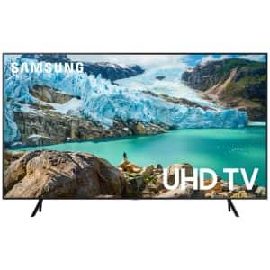 "Samsung 70"" 4K HDR LED UHD Smart TV for $580"