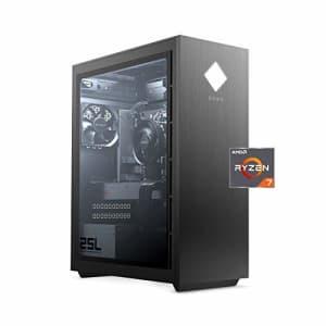 HP OMEN 25L Gaming Desktop PC, AMD Radeon RX 5500, AMD Ryzen 7 3700X, HyperX 16GB DDR4 RAM, 512GB PCIe for $1,399