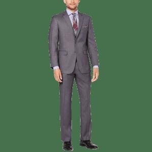 Perry Ellis Men's Slim-Fit Suit for $80