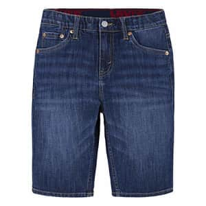 Levi's Boys' 511 Slim Fit Performance Shorts, Highlands, 7X for $22