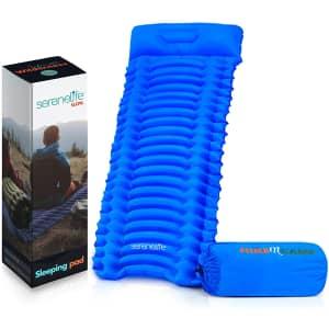 Backpacking Air Mattress Sleeping Pad for $18