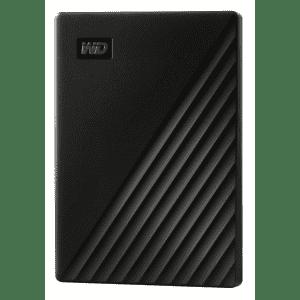 WD My Passport 2TB USB 3.0 Portable Hard Drive for $60