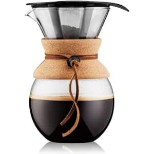 Bodum 34-oz. Pour-Over Coffee Maker for $20