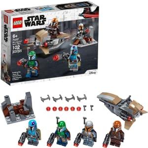 LEGO Star Wars Mandalorian Battle Pack for $12
