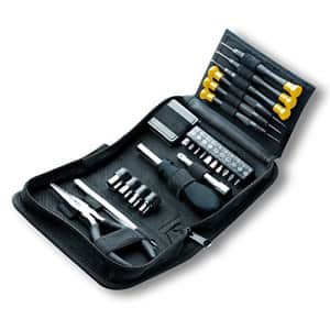Allied Tools 49032 25-Piece Tri-Fold Mini Tool Set for $18