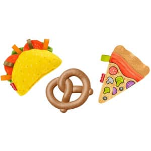 Fisher-Price 3-Piece Tiny Treats Munchies Gift Set for $6