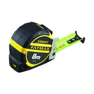 """Stanley XTHT0-36004"""" Pro Blade Armor Tape Measure with Anchor, Black/Yellow, 8 m/32 mm for $69"""
