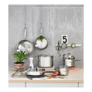 Calphalon Classic 10-Piece Stainless Steel Cookware Set for $150