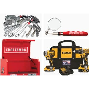Tools & Accessories at Lowe's: Up to 35% off