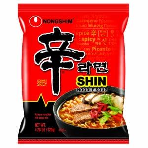 Nongshim Shin Ramyun 4.2-oz. Noodle Soup 20-Pack for $17