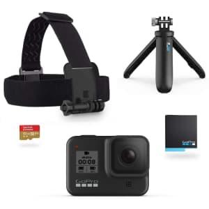 GoPro Hero8 Black 4K Action Camera Bundle for $279
