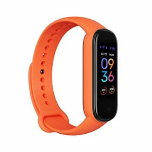 Amazfit Band 5 Fitness Tracker with Alexa Built-in, 15-Day Battery Life, Blood Oxygen, Heart Rate, for $51