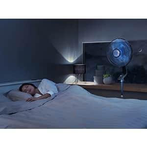 Rowenta VU5670 Turbo Silence Oscillating Fan, Standing Fan, 5 Speed Fan with Remote Control for $122