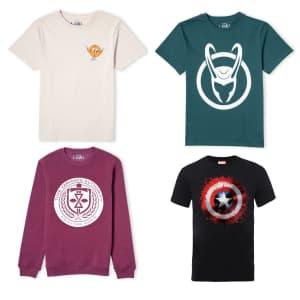 Marvel Clothing at Zavvi: 30% off