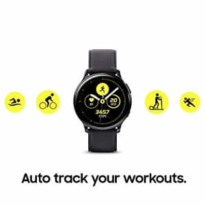 Samsung Galaxy Watch Active2 w/ enhanced sleep tracking analysis, auto workout tracking, and pace for $180