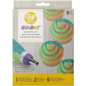 Wilton ColorSwirl 3-Color Coupler Decorating Kit for $4