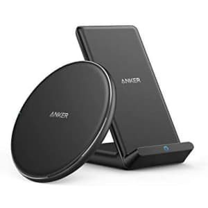 Anker Wireless PowerWave Pad & Stand Charger Bundle for $32