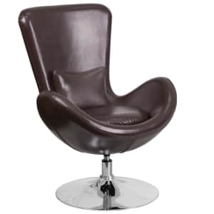 Flash Furniture Egg Series LeatherSoft Swivel Chair for $231