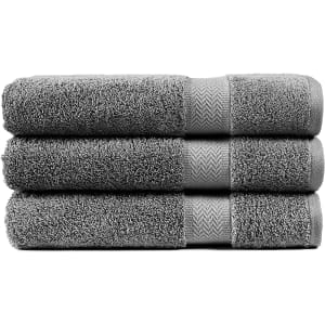 Chateau Home Collection Bath Towels 3-Pc. Set for $25