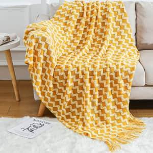 Blagic Throw Blanket for $12