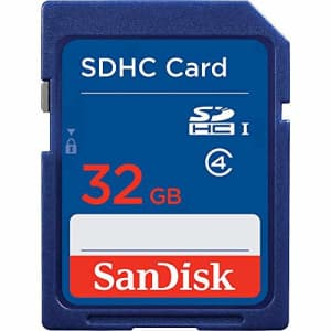 SanDisk SDSDB-032G-B35 32 GB Secure Digital High Capacity (SDHC) - 1 Card for $10