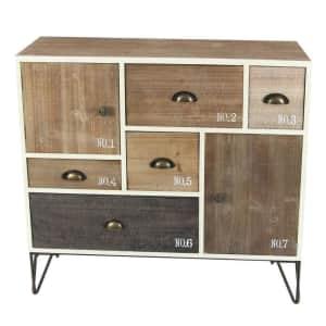 Litton Lane 5-Drawer / 2-Cabinet Storage Chest for $200