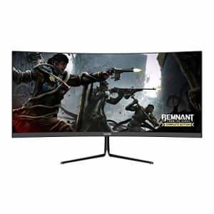 VIOTEK GNV29CB Ultrawide Curved 29-Inch Gaming Monitor | 120Hz UWFHD 21:9 w/Immersive 1200R VA for $230