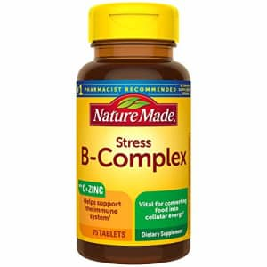 Nature Made Stress B-Complex with Vitamin C and Zinc Tablets, 75 Count (Packaging May Vary) for $18