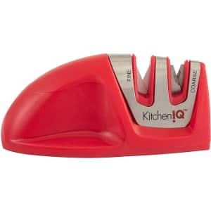 KitchenIQ Edge Grip 2-Stage Knife Sharpener for $6