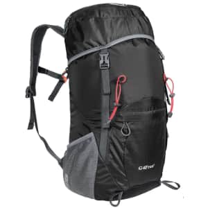 G4Free 35L Lightweight Packable Hiking Backpack for $16