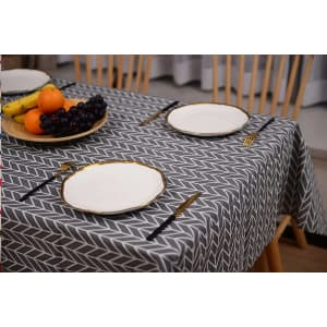 """Decmay 55"""" x 70"""" Rectangular Patterned Tablecloth for $7"""