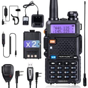Tidradio Handheld Ham Radio for $38