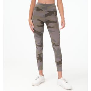 Aeropostale Women's Classic Camo Flex Pocket Ankle Leggings for $13