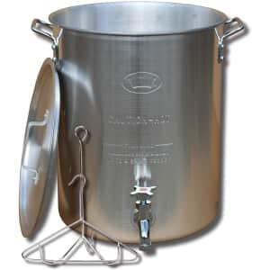 King Kooker 30-Qt. Aluminum Turkey Stock Pot for $87