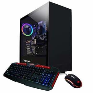 iBUYPOWER Pro Gaming PC Computer Desktop ARCB 108Av2 (AMD Ryzen 3 3100 3.6GHz, NVIDIA GT 710 1GB, for $690