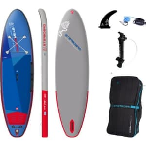 Starboard iGO Deluxe SC Inflatable Stand Up Paddle Board for $780