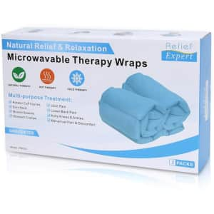 Relief Expert Microwavable Therapy Wrap 2-Pack for $15