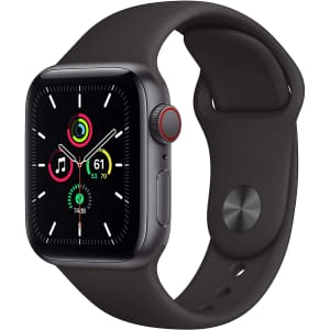 Apple Watch SE GPS + Cellular 40mm Aluminum Smartwatch for $290 in cart