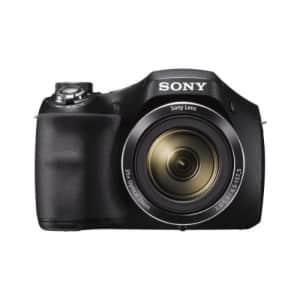 Sony DSCH300/B Digital Camera (Black) for $198